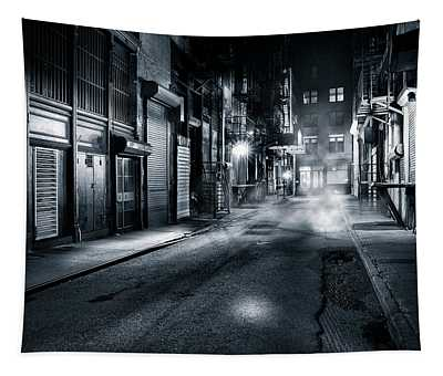 Dark Nyc Tapestry
