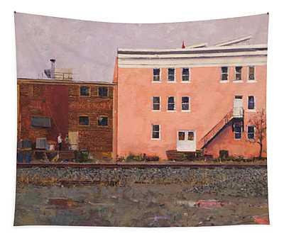 Dave Matthews Pink Warehouse Tapestry
