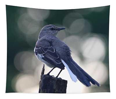 Dawn Mockingbird Tapestry