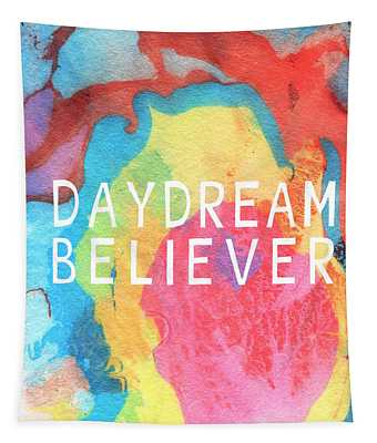 Daydream Believer- Abstract Art By Linda Woods Tapestry