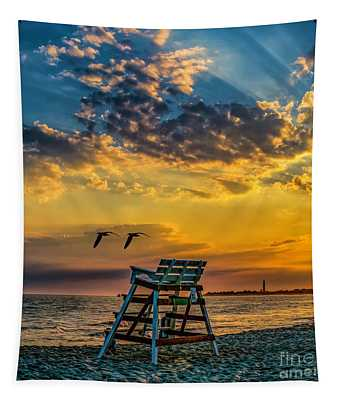 Days End In Cape May Nj Tapestry