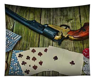 Dead Mans Gun Aces High Tapestry