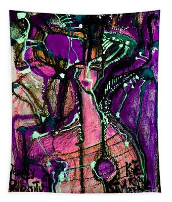 Deadly Beauty-4 Tapestry