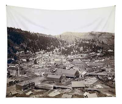 Deadwood South Dakota  1888 Tapestry