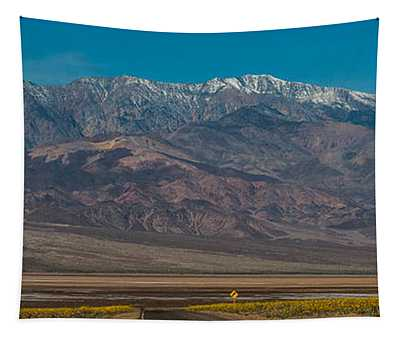 Death Valley Mountains Tapestry