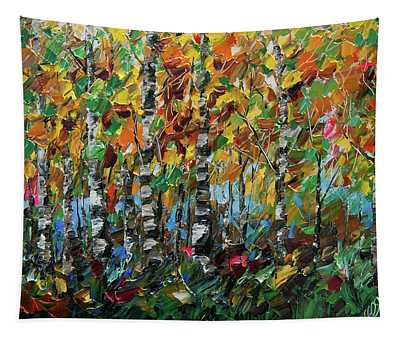 Deep In The Woods Tapestry