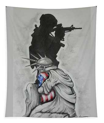 Defending Liberty Tapestry