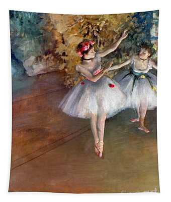 Tapestry featuring the photograph Degas: Dancers, C1877 by Granger