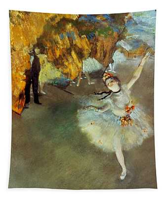 Degas Star, 1876-77. To License For Professional Use Visit Granger.com Tapestry