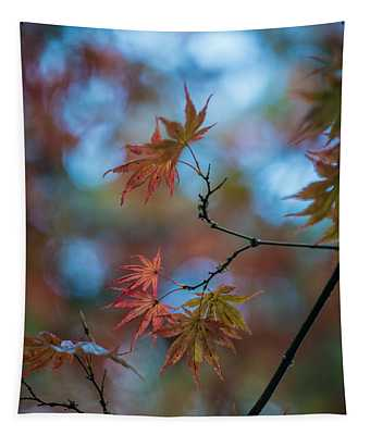 Delicate Signs Of Autumn Tapestry