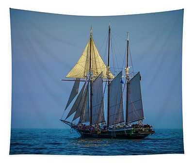 Denis Sullivan - Three Masted Schooner Tapestry
