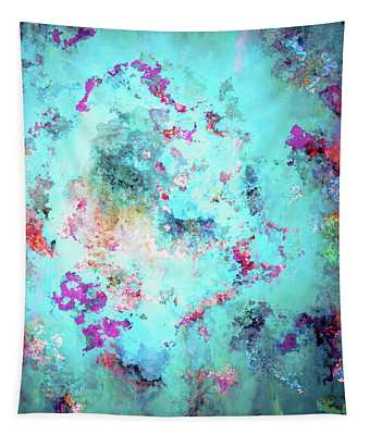 Depths Of Emotion - Abstract Art Tapestry