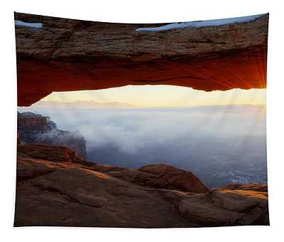 Desert Fog Tapestry