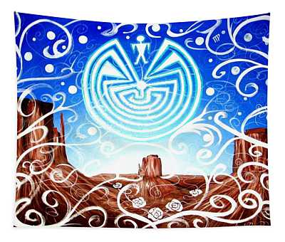 Desert Hallucinogens Tapestry