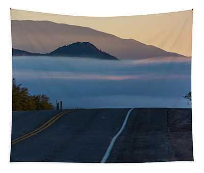 Desert Inversion Highway Tapestry