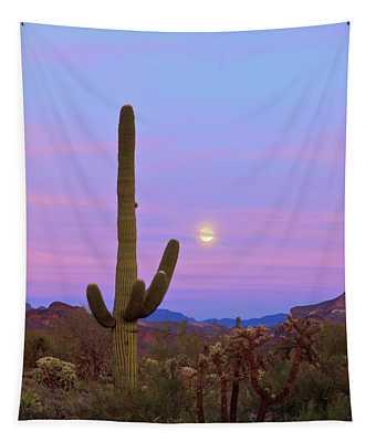 Desert Moon Tapestry