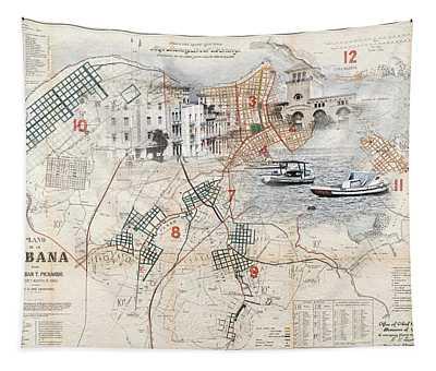 Destination Havana Tapestry