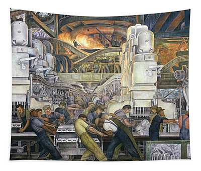 Machinery Wall Tapestries