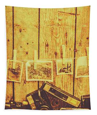 Developed Photographs Wall Tapestries