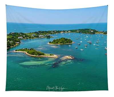 Devils Foot Island Tapestry