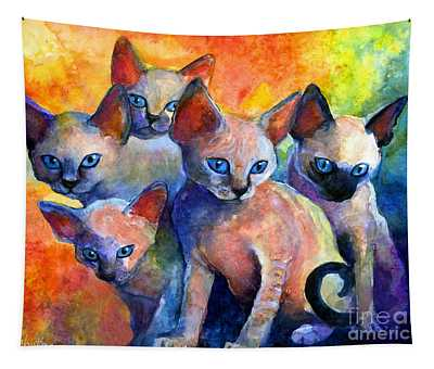 Kittens Tapestries