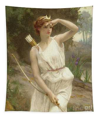 Diana, The Huntress Tapestry