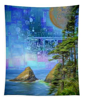 Digital Dream Tapestry