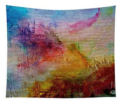 1a Abstract Expressionism Digital Painting Tapestry