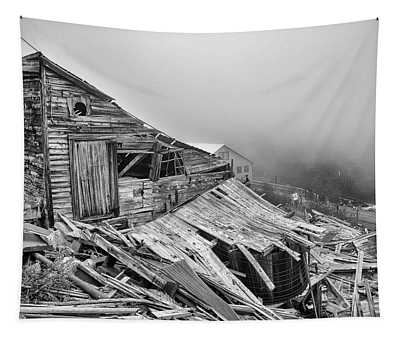 Dilapidated Gold Mine Tapestry