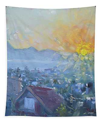 Dilesi In A Brand New Day  Tapestry
