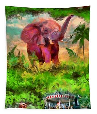 Disney's Jungle Cruise Tapestry