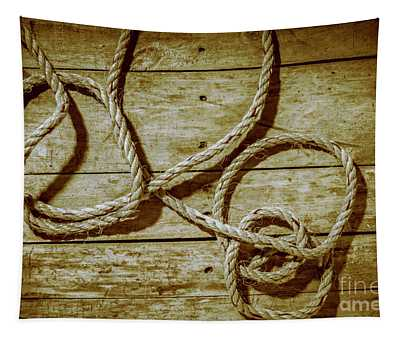 Dispatched Ropes And Voyages Tapestry