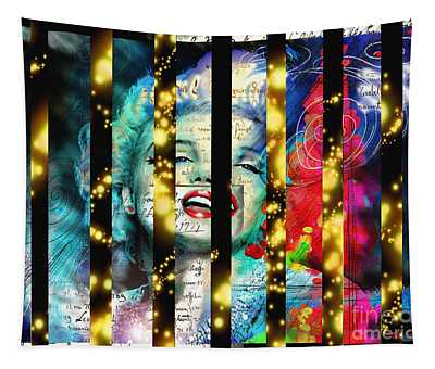 Diva A Star In Stripes Tapestry