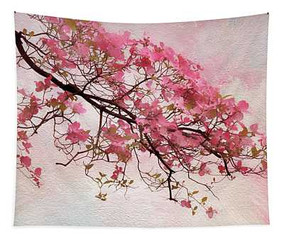 Divine Dogwood  Tapestry