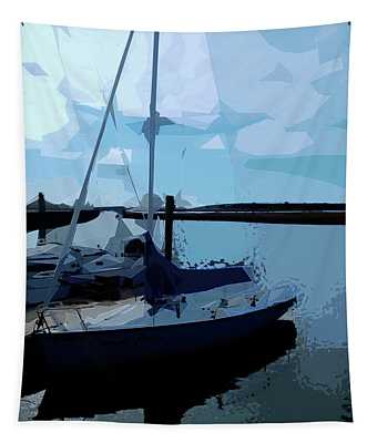 Dockside No. 2 Tapestry