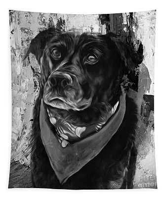 Dog 09ui Tapestry