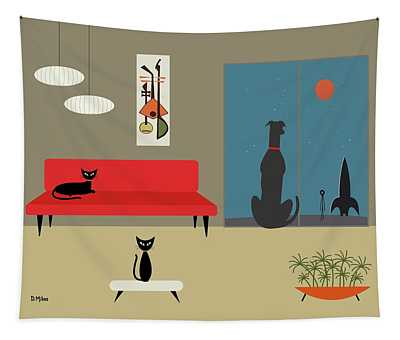 Dog Spies Alien Tapestry