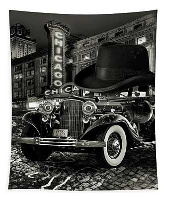 Don Cadillacchio Black And White Tapestry