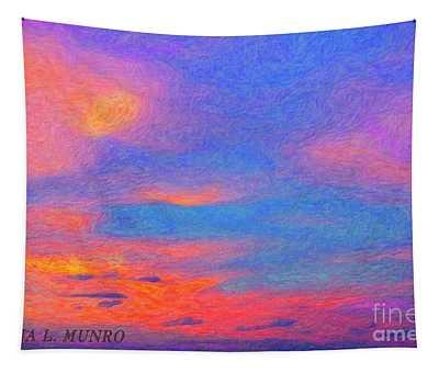 Donna's Sunrise Tapestry
