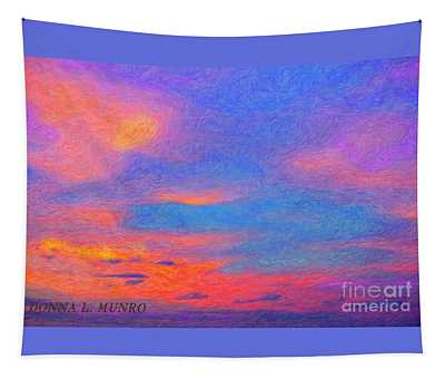 Donna's Sunrise Tapestry