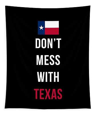 Don't Mess With Texas Tee Black Tapestry