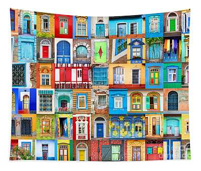 Doors And Windows Of The World Tapestry