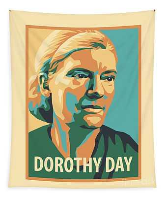 Dorothy Day, 1938 - Jldyd Tapestry