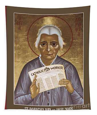 Dorothy Day Of New York - Rldrd Tapestry