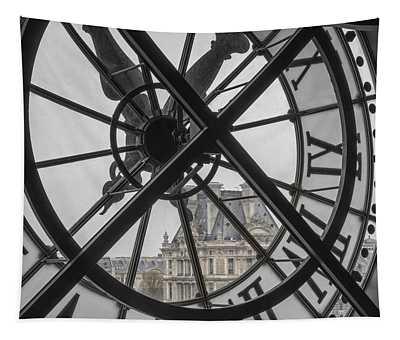 D'orsay Clock Paris Tapestry
