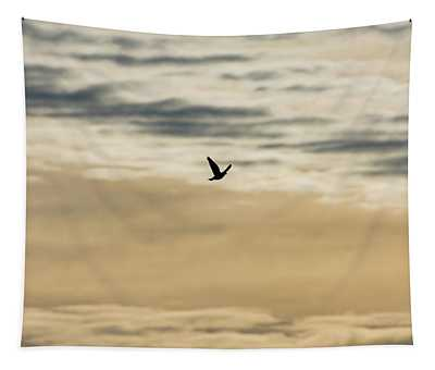 Dove In The Clouds Tapestry
