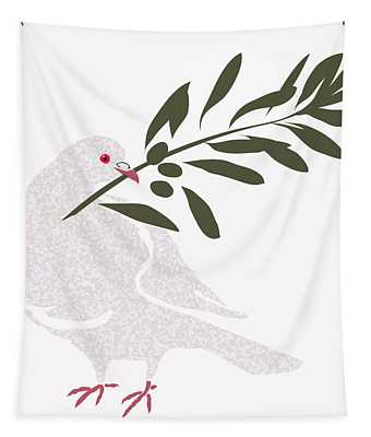 Dove Of Peace Tapestry