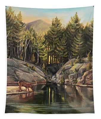 Down By The Pemigewasset River Tapestry