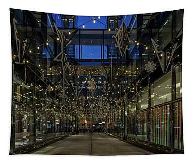 Downtown Christmas Decorations - Washington Tapestry