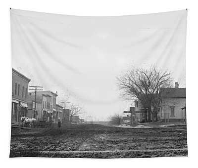 Downtown Hudson Iowa Tapestry